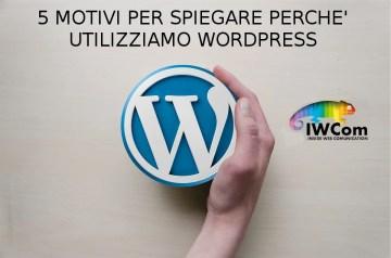 5 motivi del perchè ci piace wordpress