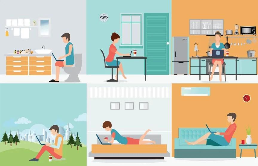 creare una rete domestica windows