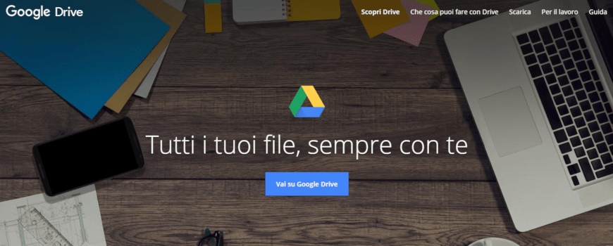 come creare account google drive