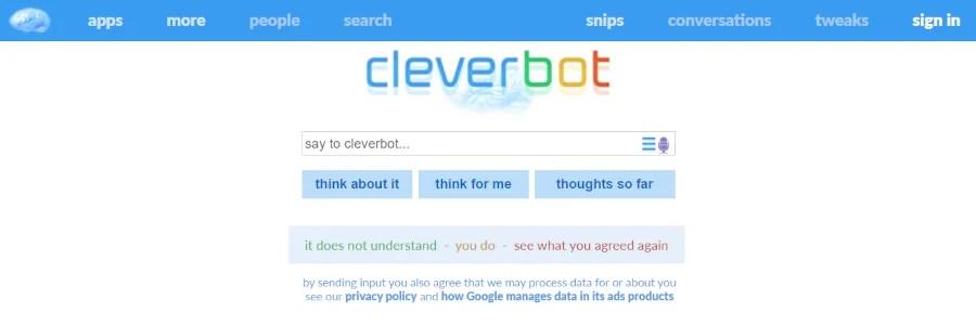 cleverbot - gubitosapierfranco