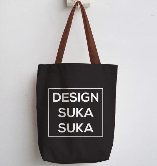 Tote Bag Kanvas Custom