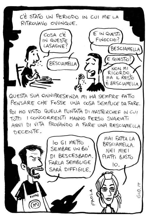ricetta besciamella