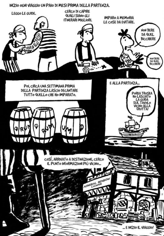 guida di viaggio a fumetti