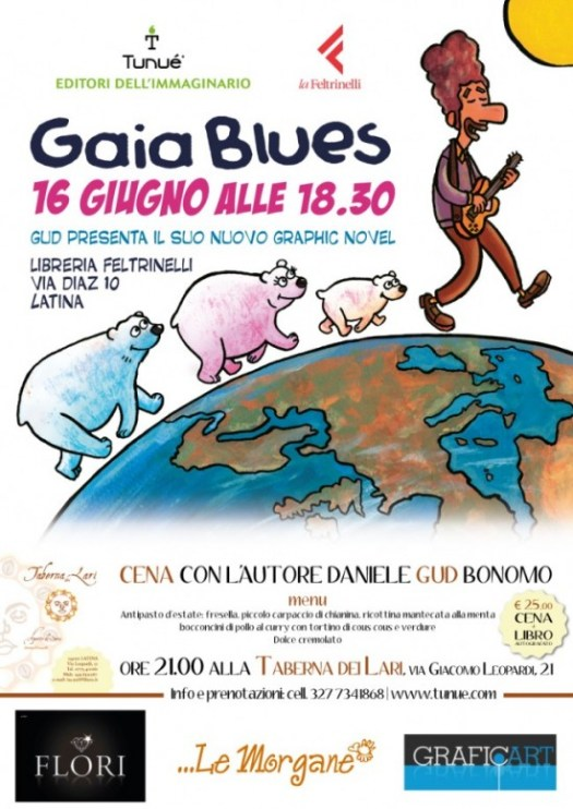 gaia blues fumetto feltrinelli