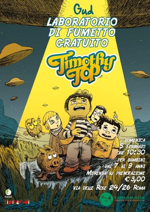 laboratorio fumetti per bambini
