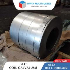 Baja Ringan Vs Galvalume Slit Coil Supplier Distributor Gudang