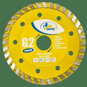 DISCO TURBO SECO PROFISSIONAL PREMIUM G2 GUEPAR
