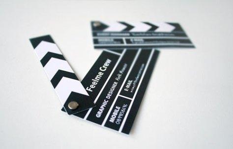 creatief visitekaartje film