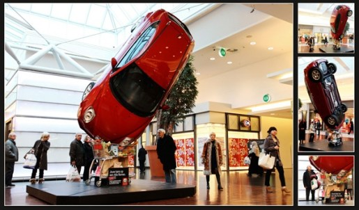 Guerrilla Marketing Voorbeeld 24 Alfa Romeo