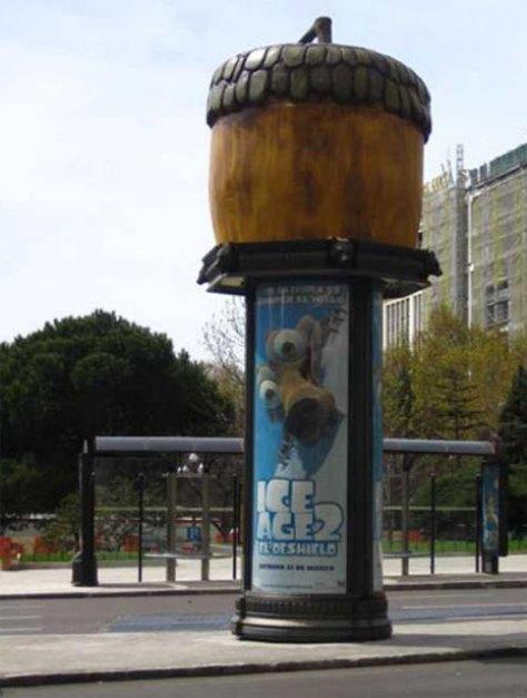 Guerrilla Marketing Voorbeeld 44 Ice Age 2
