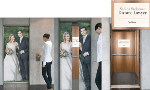 Guerrilla Marketing Voorbeeld 54 Divorce
