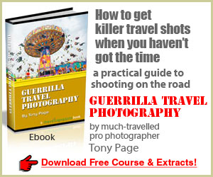 Get the Guerrilla Travel Photography ebook here now!
