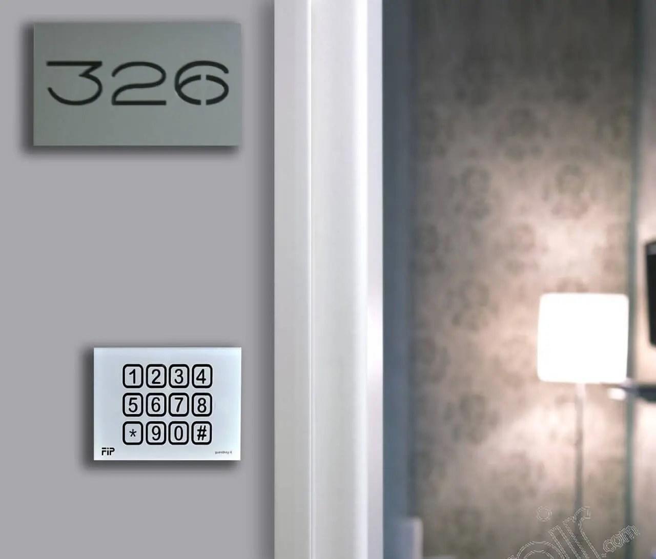 manuale d'uso serratura elettronica hotel