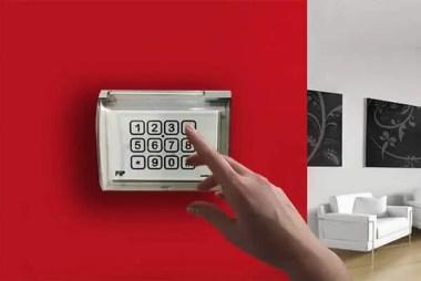 tastiera apriporta con codice hotel per esterno