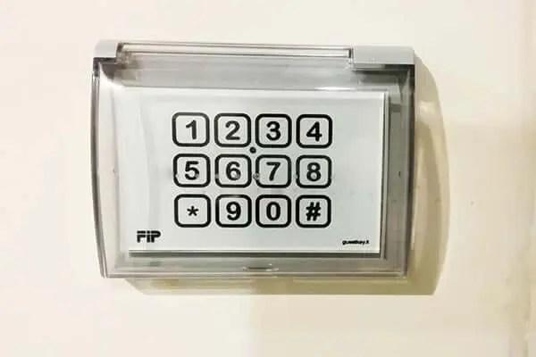 serratura elettronica tastiera per esterno