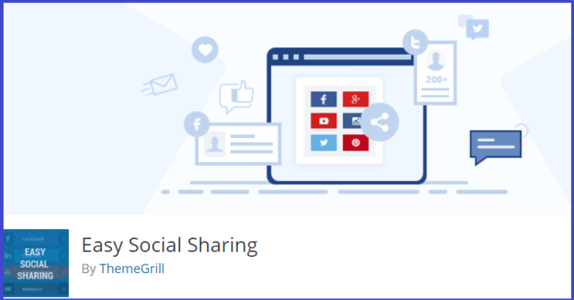 easy social sharing WordPress plugin