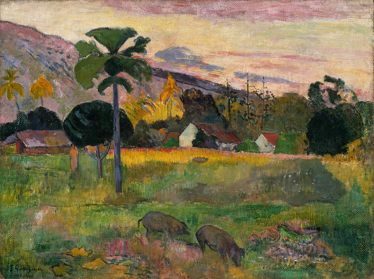 Image result for Paul Gauguin (1848-1903), Haere Mai, 1891,