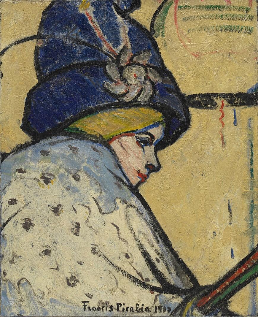 Image result for Francis Picabia (1879-1953), Portrait de Mistinguett,
