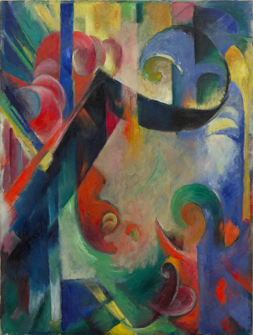 Broken Forms ( Zerbrochene Formen ) | Franz Marc