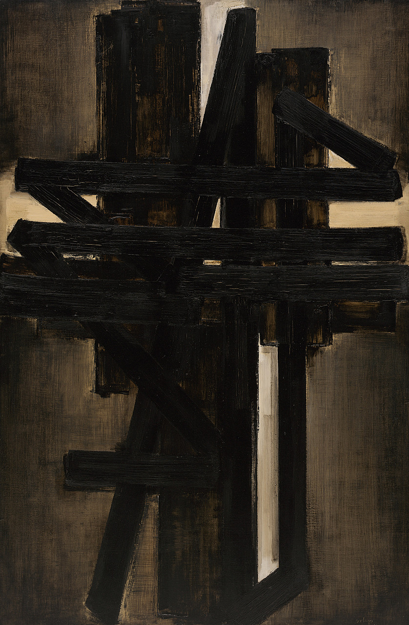 Image result for soulages painting