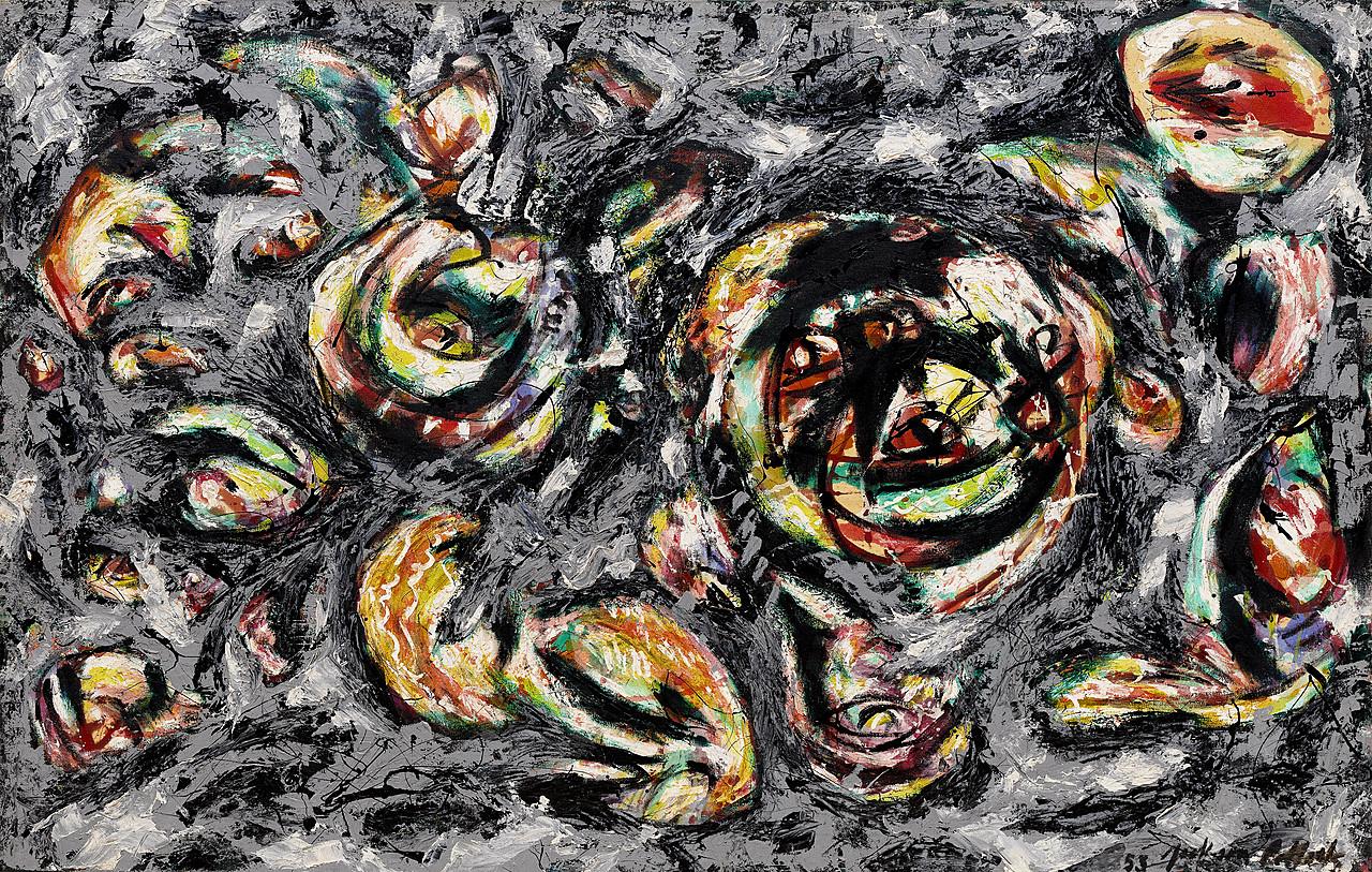 Jackson Pollock Kunstdrucke Kunst Ocean Greyness Designcity