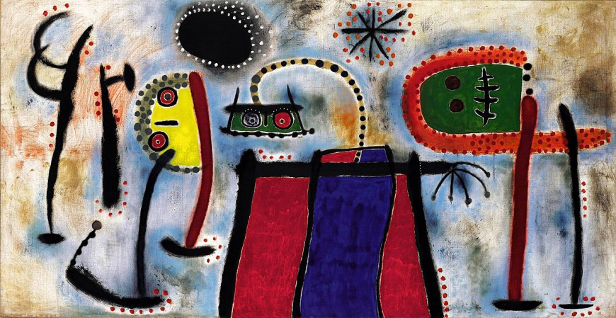Joan Miró, Painting, 1953. Oil on canvas, 6 feet 4 3/4 inches x 12 feet 4 3/4 inches (194.9 x 377.8 cm)