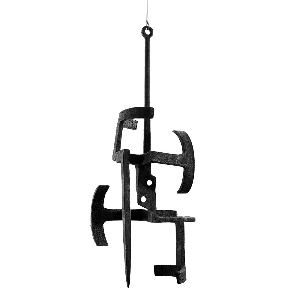 Eduardo Chillida, From Within, March 1953. Iron, 38 3/4 x 11 x 15 3/4 inches (98.4 x 27.9 x 40 cm)