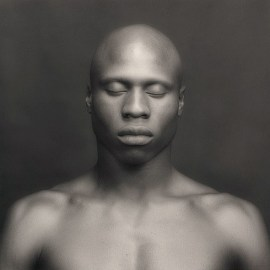 Robert Mapplethorpe, Ken Moody, 1983. Gelatin silver print, image: 15 1/8 x 15 1/4 inches (38.4 x 38.7 cm); sheet: 19 7/8 x 15 7/8 inches (50.5 x 40.3 cm)