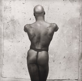 Robert Mapplethorpe, Ken Moody, 1983. Platinum print mounted on board, image: 19 5/16 x 19 7/16 inches (49.1 x 49.4 cm); sheet: 26 x 22 5/16 inches (66 x 56.7 cm)