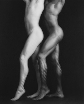 Robert Mapplethorpe, Ken and Tyler, 1985. Platinum-palladium print, image: 23 3/8 x 19 3/4 inches (59.4 x 50.2 cm); sheet: 26 15/16 x 22 1/2 inches (68.4 x 57.2 cm)