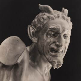 Robert Mapplethorpe, Italian Devil, 1988. Platinum print, image: 19 1/8 x 19 inches (48.6 x 48.3 cm); sheet: 27 1/8 x 22 1/4 inches (68.9 x 56.5 cm)