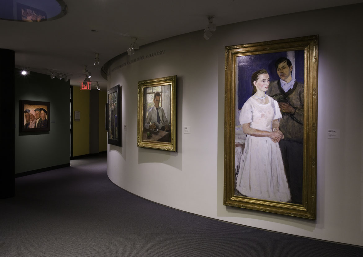 The Exhibition Of Russian