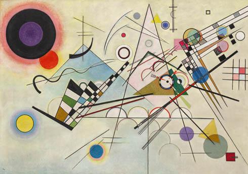 Composición nº8, Kandinsky.