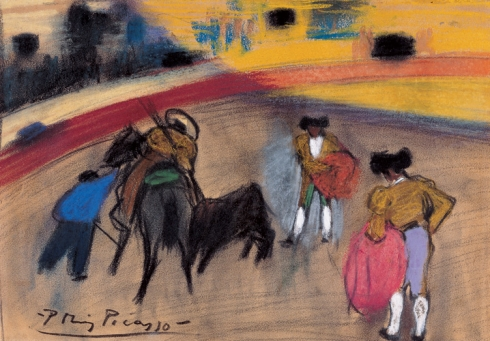 Pablo Picasso 1881 1973 The Picador 1900 Pastel On Paper 19