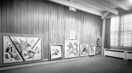 Kandinsky Memorial Exhibition (Alternate Title: In Memory of Wassily Kandinsky). 1945. Exhibition records. A0003. Solomon R. Guggenheim Museum Archives, New York