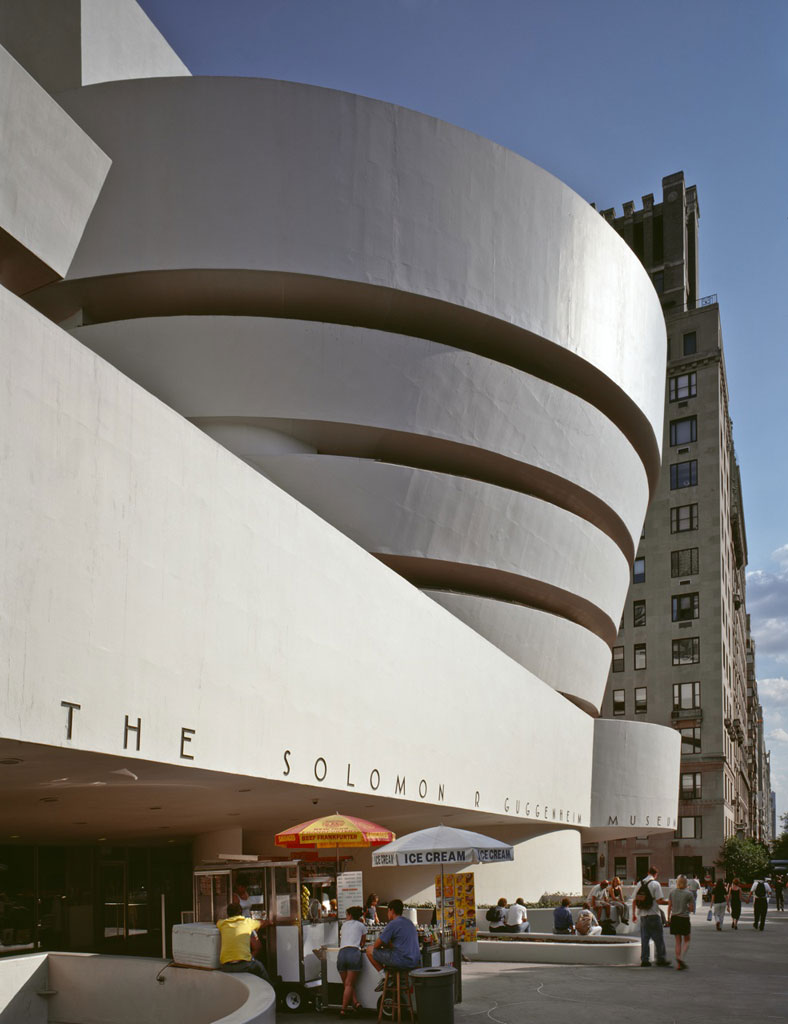 How One Simple Material Shaped Frank Lloyd Wright's Guggenheim