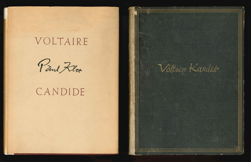 voltaire candide text