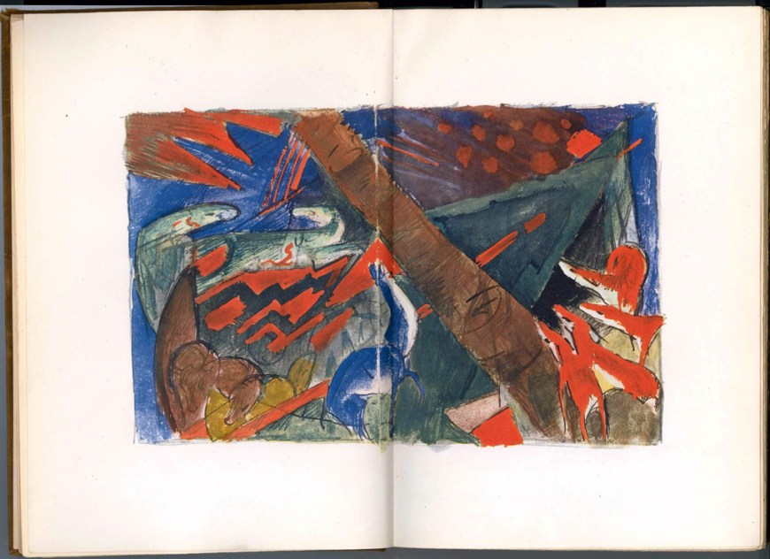 sketchbook from the field franz marc