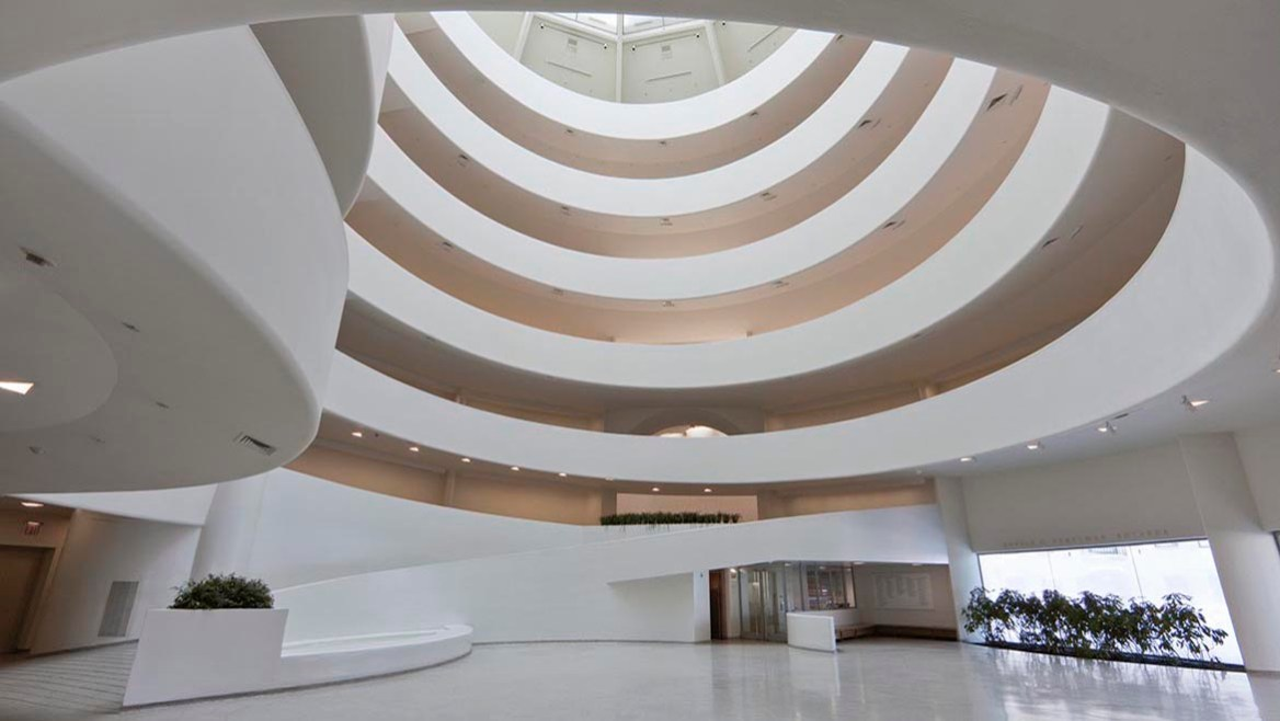 The Guggenheim Museum On The Inside