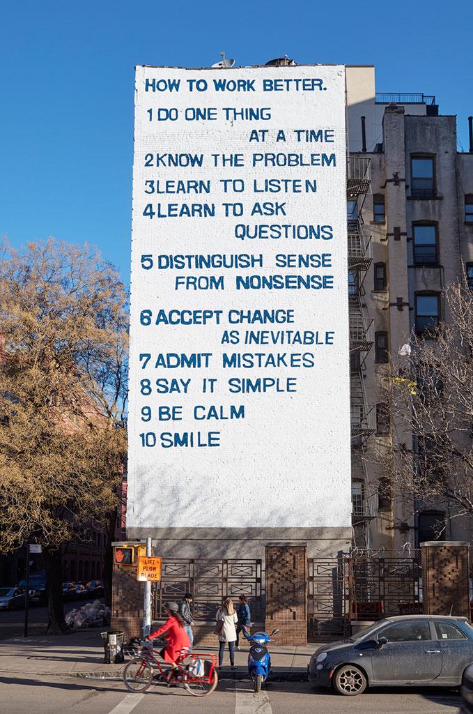 Inspirational Peter Fischli David Weiss How to Work Better Presented by Public Art