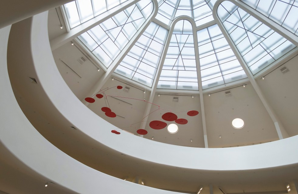 ... Installation view of the exhibition Art of Another Kind: International Abstraction and the Guggenheim, ...