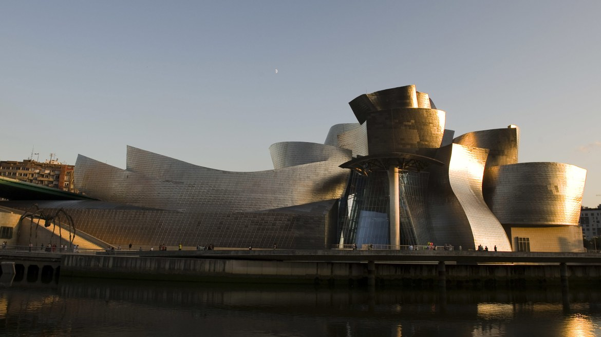 Guggenheim Museum in Bilbao Spain by Frank Gehry