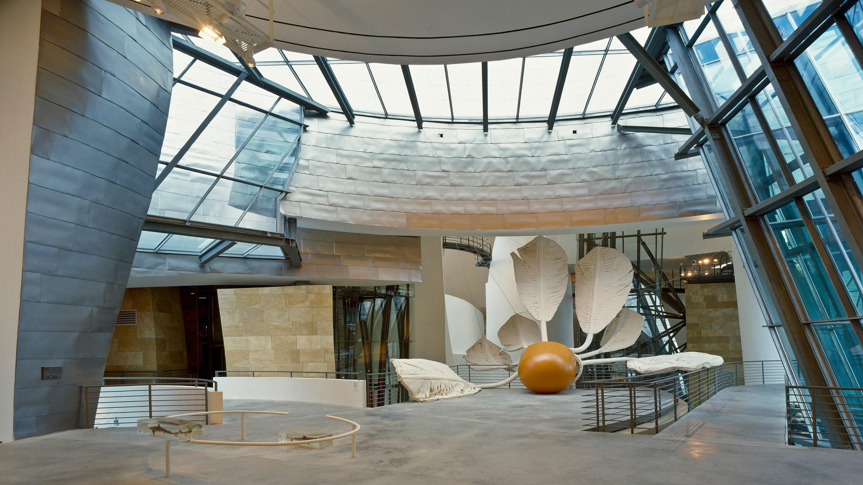 Bilbao Guggenheim Interior  Guggenheim Inside