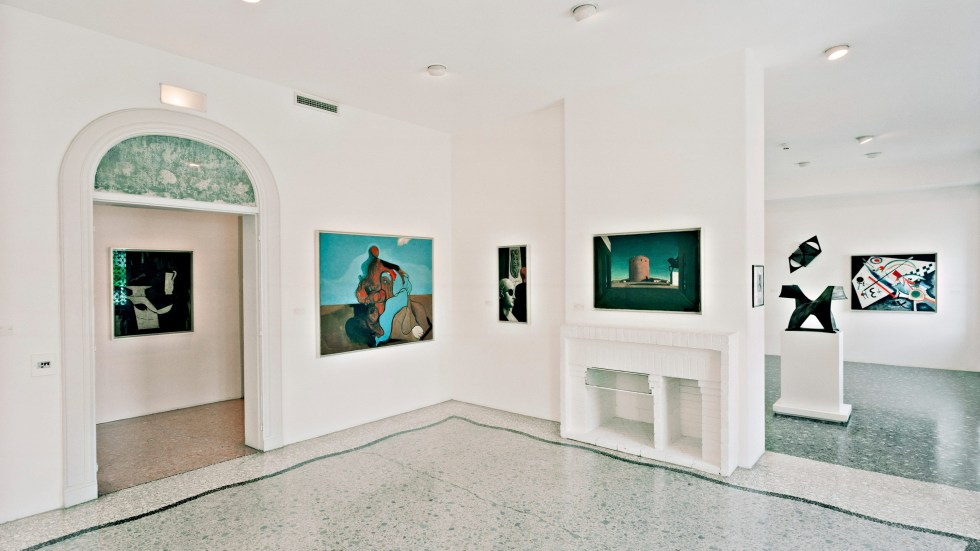af0a60aa Interior of the Peggy Guggenheim Collection Carlo Cardazzo: A New Vision of  Art, November 1, 2008–March 1 ...