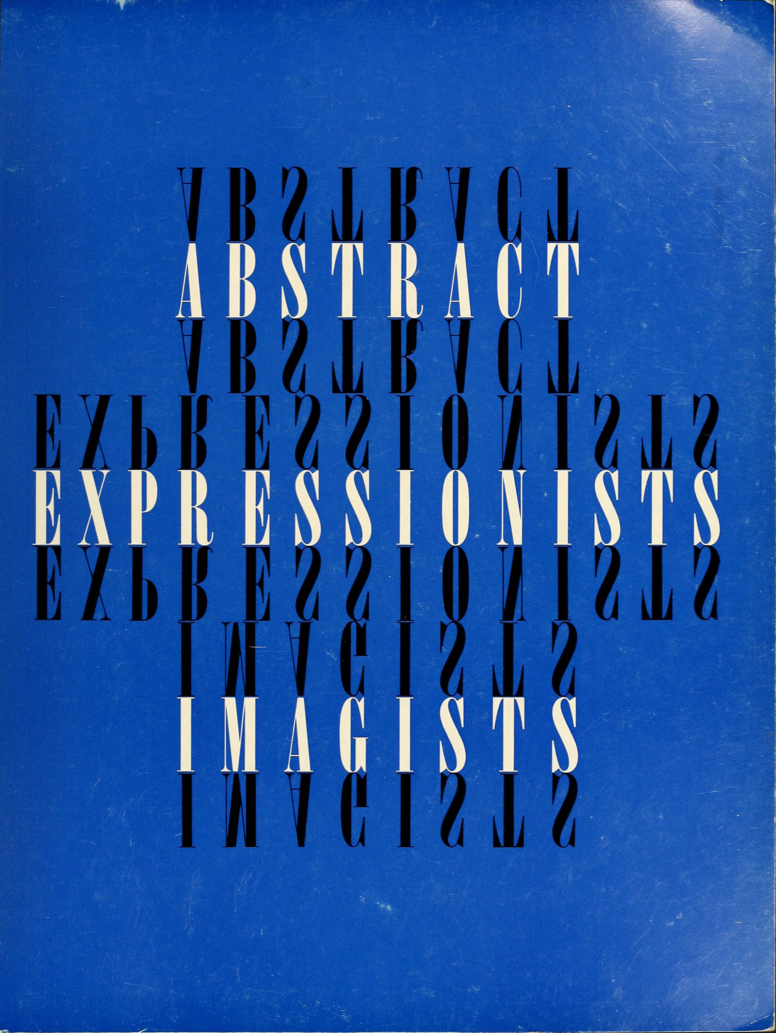 abstract expressionists imagists