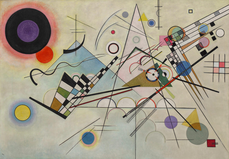 Elements And Organization Of Visual Arts : Vasily kandinsky u  composition komposition