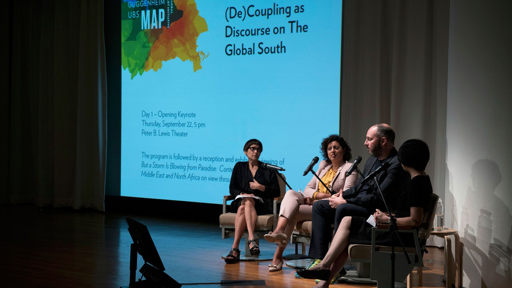 On The Map Guggenheim Director And Curators Speak About Global