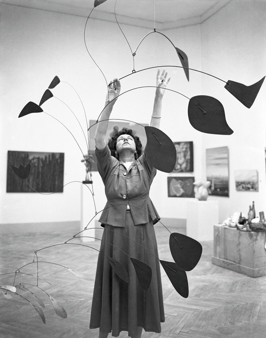 Patron of the Arts A Figure Essential to Every Page of Art's History - Peggy Guggenheim patron Patron of the Arts: A Figure Essential to Every Page of Art's History people peggy guggenheim 1948 calder mobile arc of petals