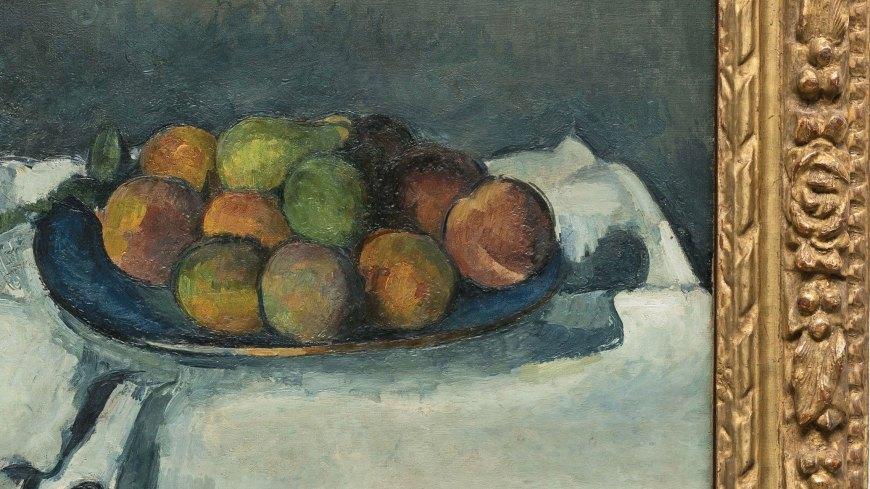 A Fresh Frame For A Cézanne Still Life