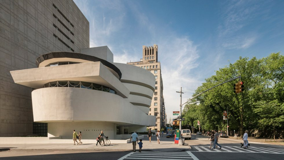 The Frank Lloyd Wright Building